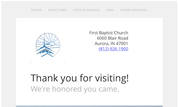 Churches:  How to Streamline Your Visitor Follow-up