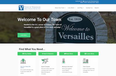 A New Niche - Websites for Towns and Small Cities